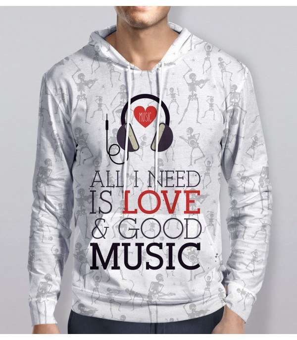 All I Need Is Love Hoodie