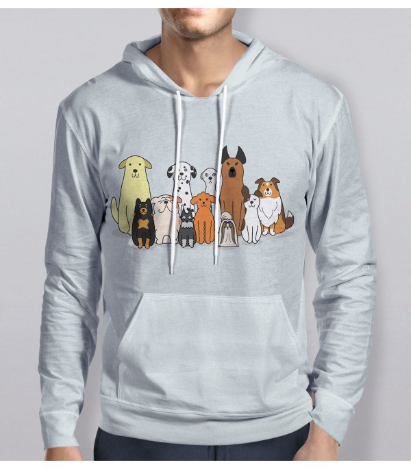 Group Of Dogs Hoodie
