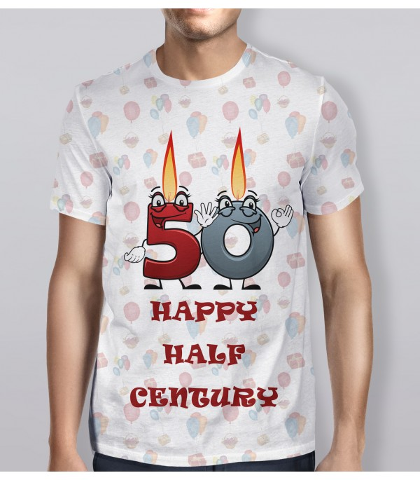 50th Birthday Celebration T Shirt