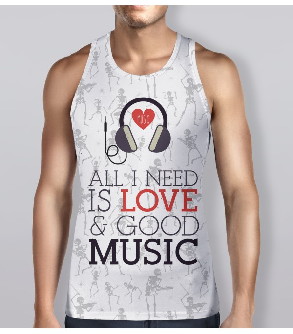 All I Need Is Love Tank